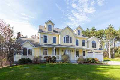 Madbury Single Family Home For Sale: 5 Hoyt Pond Road