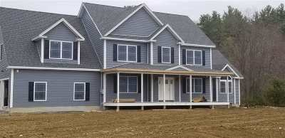 Weare Single Family Home For Sale: Lot 6 Cortland