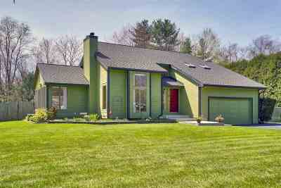 Hooksett Single Family Home Active Under Contract: 8 Meadowcrest Road
