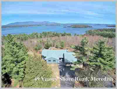 Meredith Single Family Home Active Under Contract: 49 Veasey Shore Road