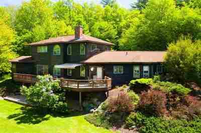 Waterbury Single Family Home For Sale: 271 North Pinnacle Ridge Road