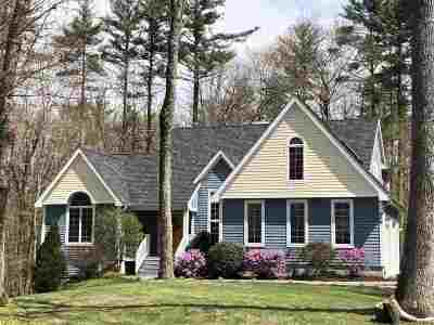 Strafford County Single Family Home For Sale: 600 Scruton Pond Road
