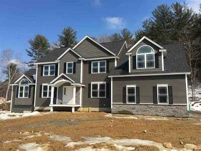 Goffstown Single Family Home For Sale: Lot 3 John King Drive