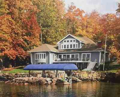 Gilford Single Family Home For Sale: 274 Edgewater Drive