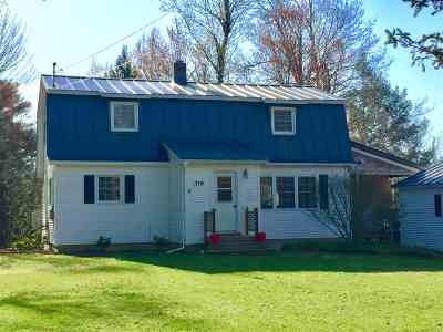 Castleton Single Family Home Active Under Contract: 119 Farr Drive