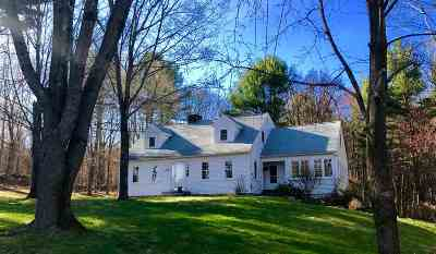 Hopkinton Single Family Home For Sale: 60 Gage Hill Road