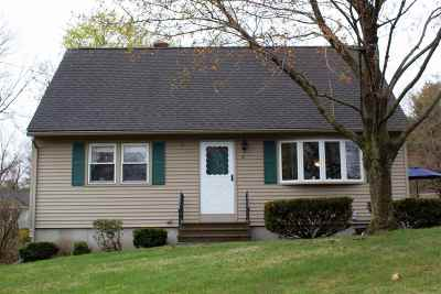 Goffstown Single Family Home Active Under Contract: 39 Holly Street