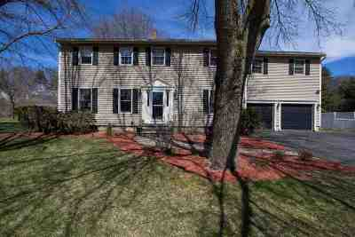 Colchester Single Family Home For Sale: 58 Fastnet Circle