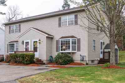 Goffstown Condo/Townhouse Active Under Contract: 10 Conestoga Court #B