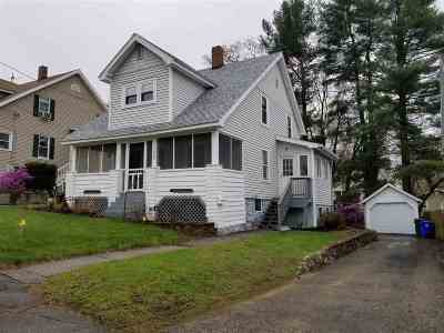 Manchester Single Family Home Active Under Contract: 137 Oakdale Avenue