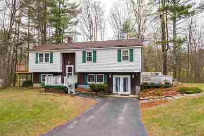 Raymond Single Family Home Active Under Contract: 90 Harriman Hill Road
