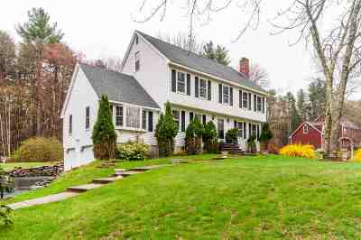 Windham Single Family Home Active Under Contract: 140 Kendall Pond Road