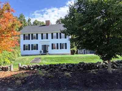 Merrimack County Single Family Home For Sale: 836 Jewett Road