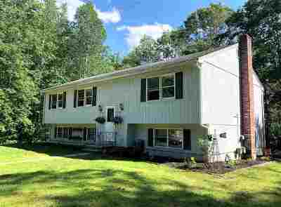 Madbury Single Family Home For Sale: 18 Nute Road