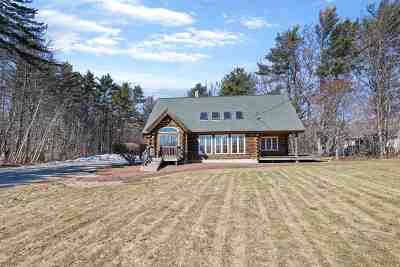 Moultonborough Single Family Home For Sale: 87 Whittier Highway