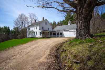Carroll County Single Family Home Active Under Contract: 784 Cleveland Hill Road