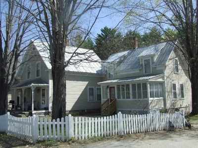 Conway Single Family Home For Sale: 73 & 75 Pollard Street