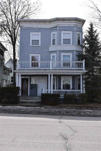 Manchester Multi Family Home For Sale: 429 Hanover Street