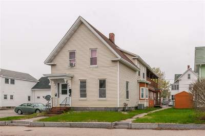 Manchester Multi Family Home For Sale: 382 Central Street