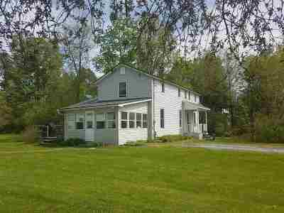 Highgate Single Family Home Active Under Contract: 6603 Vermont 78 Route
