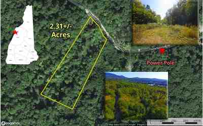 Haverhill NH Residential Lots & Land For Sale: $18,900