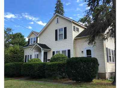 South Burlington Single Family Home For Sale: 1495 Williston Road