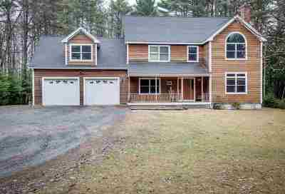 Merrimack County Single Family Home For Sale: 233 Stoney Brook Road