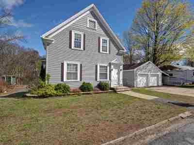 Manchester Single Family Home For Sale: 89 Shirley Hill Rd