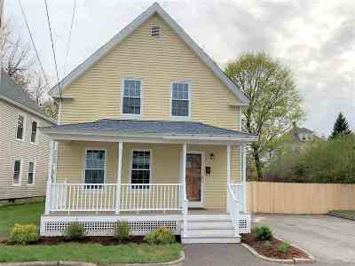 Derry Single Family Home Active Under Contract: 11 Griffin Street