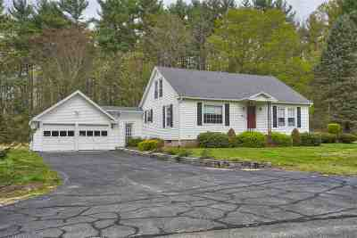 Windham Single Family Home Active Under Contract: 64 Mammoth Road