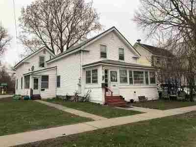 St. Albans City Multi Family Home For Sale: 52 North Elm Street