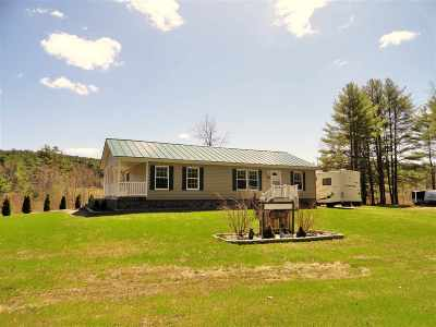 Single Family Home For Sale: 879 Us Route 4