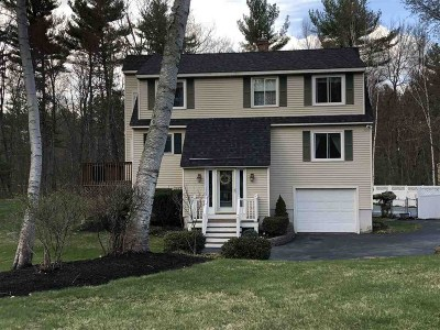 Londonderry Single Family Home Active Under Contract: 8 Old Coach Road