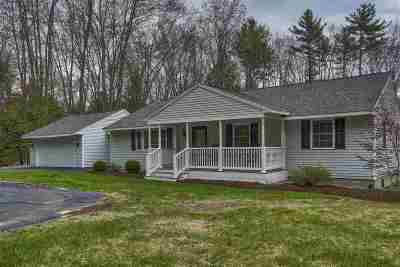 Bedford Single Family Home Active Under Contract: 72 Nashua Road