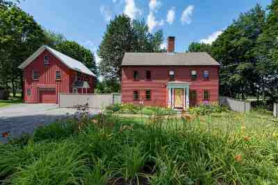 Strafford County Single Family Home For Sale: 165 Dover Point Road