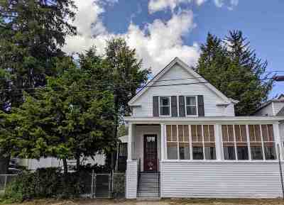 Manchester Single Family Home Active Under Contract: 384 Amherst Street