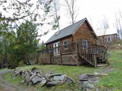 Barnet Single Family Home Active Under Contract: Cabin #13 Campers Lane