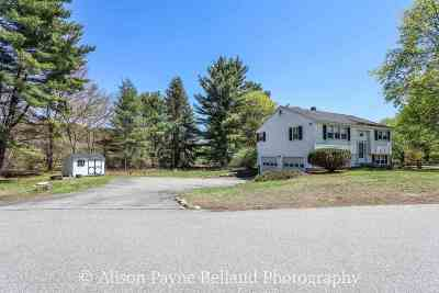 Goffstown Single Family Home Active Under Contract: 14 Autumn Street
