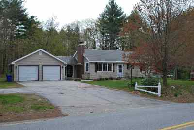 Goffstown Single Family Home Active Under Contract: 182 Tibbetts Hill Road