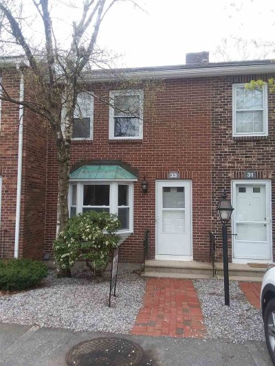 Manchester Condo/Townhouse Active Under Contract: 33 Derryfield Court