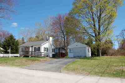 Hooksett Single Family Home Active Under Contract: 11 Coaker Avenue