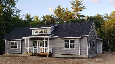 Conway Single Family Home Active Under Contract: Lot 30 Pemigewasset Drive