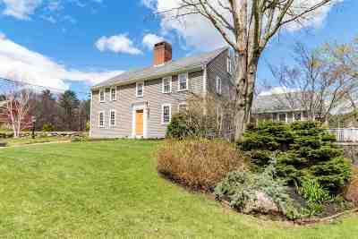 Hampton Falls Single Family Home For Sale: 165 Drinkwater Road