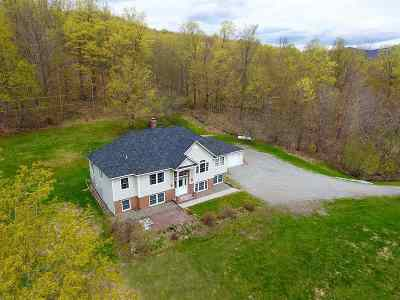 Single Family Home For Sale: 233 Green Mountain Rd Road