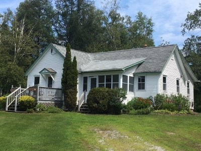 Elmore Single Family Home For Sale: 1013 Vt Route 12 Highway