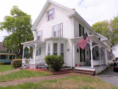 Epping Single Family Home For Sale: 88 Main Street