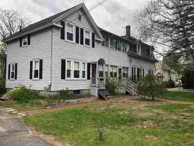 Concord Single Family Home Active Under Contract: 14 Grove Street