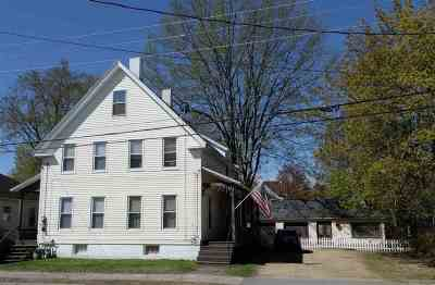 Concord Multi Family Home Active Under Contract: 102-104 South State Street