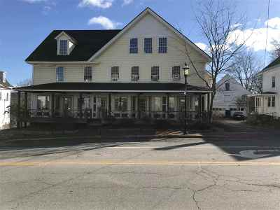 Hillsborough Commercial For Sale: 2 And 10 W Main Street