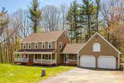 Northwood Single Family Home Active Under Contract: 9 Temperance Hill Drive